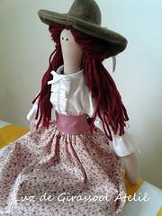 Tilda (Luz de Girassol Ateli) Tags: de para pano infantil ou boneca tilda decorao colecionadores
