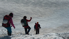 Rumalbern (Steffen Knalltüte) Tags: alpen gletscher wandern hochtouren grosglockner oberwalderhütte