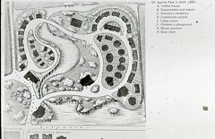 Plan of Agnetapark, Delft, The Netherlands. (The JR James Archive, University of Sheffield) Tags: wirral merseyside portsunlight thewirral