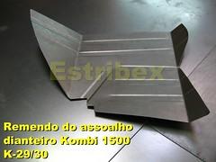 Remendo-Assoalho-Dianteiro-Kombi-1500 (2) (Estribex) Tags: vw reforma 1500 kombi antiguidades restauração barrafunda reliquias carrosantigos estribex