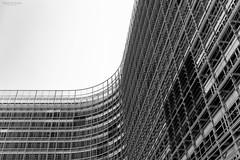 Berlaymont (Sara Ontoria) Tags: brussels abstract building texture textura monochrome architecture facade canon monocromo arquitectura europa europe european belgium pierre un