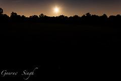 Untitled (gauravs82) Tags: light moon reflection night stars harvest fullmoon moonrise lunar
