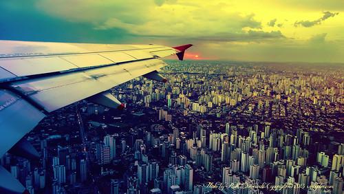 Plane-Over-Brazil