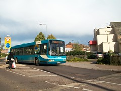 Renown on the 55 (rick421) Tags: bus station taken route wright 55 stevenage essex arriva shires renown 281013