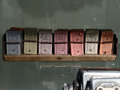 2013-10-26 West Hartlepool Corporation bus tickets 2 (John Carter 1962) Tags: bus buses ticket municipal ticketmachine westhartlepool whct