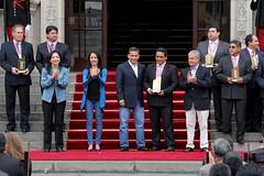 Premio Nacional a la MYPE 2013 (MINISTERIO DE LA PRODUCCION) Tags: presidente produce nacional palacio premio ministra humala mype 2013 produccin triveo