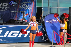 IMG_8766 (grooverman) Tags: plaza game sexy canon eos rebel football nice texas cheerleaders legs boots stadium nfl houston t3 dslr budweiser texans pregame reliant 2013
