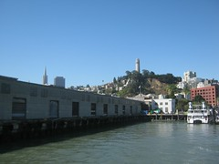 "View of Coit Tower from the Bay • <a style=""font-size:0.8em;"" href=""http://www.flickr.com/photos/109120354@N07/11042854964/"" target=""_blank"">View on Flickr</a>"