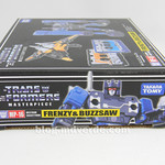 Transformers Frenzy & Buzzsaw Masterpiece - caja thumbnail