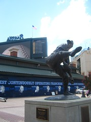 "Warren Spahn Statue • <a style=""font-size:0.8em;"" href=""http://www.flickr.com/photos/109120354@N07/11047289194/"" target=""_blank"">View on Flickr</a>"