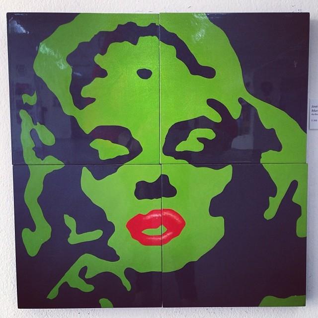 """Marilyn"" de Jose Luis Palomino $200 • Bazarte #bazarte #arteenlima #artinlima #arte #art #artist #artista #pintura #painting"