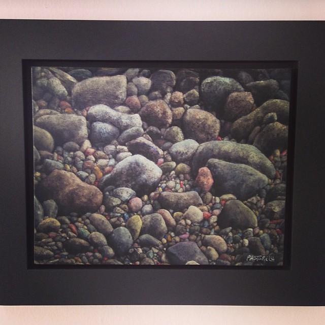 """""""On the rocks"""" de Juan Pastorelli $500 • Bazarte #bazarte #arteenlima #artinlima #arte #art #artist #artista #pintura #painting"""