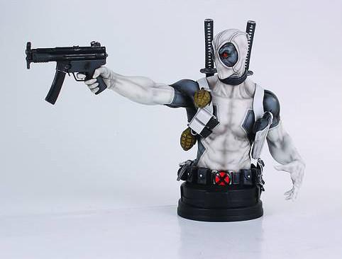 超嘴炮又魯洨的超級英雄又來了!Gentle Giant X-Force 死侍 迷你雕像