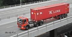 Daf CF 85.460 , Handling System Co Ltd (Waverly Fan) Tags: port truck system gateway psa inter haulage handling