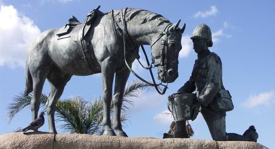 Памятник лошадям времён Англо-бурской войны