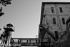 (Dipak49ers) Tags: sanfrancisco california blackandwhite bw history nationalpark politics prison jail bayarea alcatraz nativeamericans canoneos1dmkiii