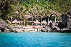 Island Fever (JeneaWhat) Tags: ocean beach island native philippines sigma palmtrees boracay islandlife nipahut sigma75300 canon550d
