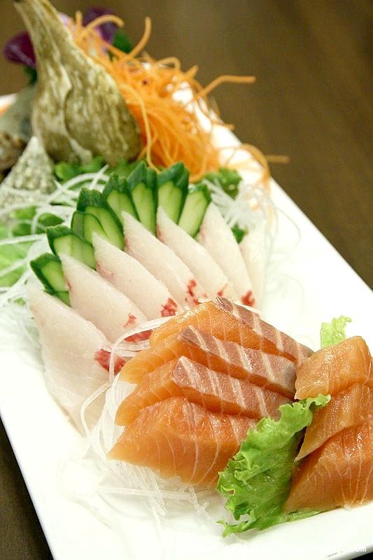 台北中正.北海漁村:雙魚刺身