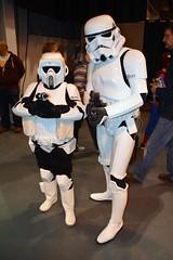 Troopers at Midland Comic-Con 2014 (masimage) Tags: trooper star costume cosplay scout telford stormtrooper 501st biker wars ukgarrison midlandscomiccon2014