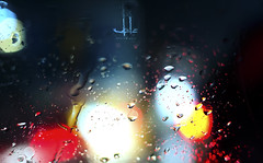 It rains when sky cries (Aadilsphotography) Tags: pakistan red rain canon photography drops colours bokeh studios 1100d aadils fadils
