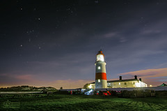 Astronomy Night at Souter Lighthouse (solidtext) Tags: longexposure sunset lighthouse night stars nikon nightlights nightshot south illuminated telescope astrophotography orion astronomy nightscene society southshields shields astronomical marsden souter souterlighthouse noctography d7000 tokina1116f28 nikond7000 noctographist
