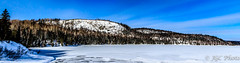 Long Lake Ontario (jgc_photo) Tags: blue winter sky panorama lake ontario canada long panoramic greenstone