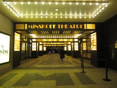 "Minskoff Theatre<br /><span style=""font-size:0.8em;"">                               </span> • <a style=""font-size:0.8em;"" href=""http://www.flickr.com/photos/119174584@N05/12890201783/"" target=""_blank"">View on Flickr</a>"