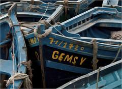 A jumble of boats (Clive1945) Tags: art boats morocco maroc impressionism essaouira impressionist d5000
