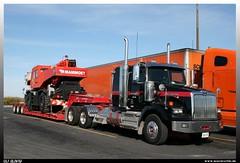"""Western Star 4900 """"Mammoet"""" (uslovig) Tags: ontario canada truck star crane lorry camion western trailer 4900 kran kanada lastwagen lkw lowboy brummi lastkraftwagen mammoet tieflader"""