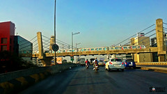 early morning spotting of metro at my fav location (akshaypatil™ ® photography) Tags: metro run trail mumbai trailrun mumbaimetro