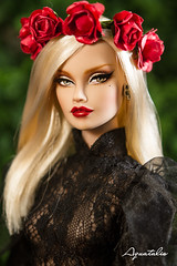 """FOR ADOPTED """" The Rock Chic """" OOAK 16'' Poppy Parker by Aquatalis (AlexNg & QuanaP) Tags: original our by price nude store doll photos cost visit worldwide poppy 16 etsy shipping parker included 235 repaint quanap wwwetsycomshopaquatalisboutique"""