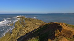 The Brigg. (Macca6691) Tags: seascape nature landscape seaside outdoor northsea seafront northyorkshire filey bemptoncliffs flamboroughhead fileybrigg thebrigg fileybay easterlywind