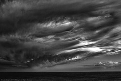 After the rain (Spookwoman) Tags: squall weather rain clouds ireland waterford tramore