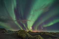 'Stokksnes Showtime' - Iceland (Kristofer Williams) Tags: night sky stars moon venus nightscape aurora northernlights landscape stokksnes vestrahorn iceland stargazers sanddunes visipix