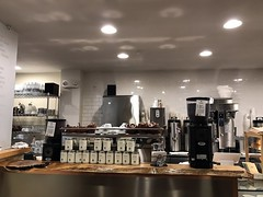 Barrington Coffee Co, Boston (Bex.Walton) Tags: boston usa massachusetts travel winter snow coffeeshops specialitycoffee cafes cafe craftcafe barringtoncoffeeco newburystreet backbay