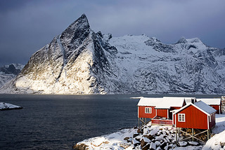 Rorbuer at Hamnoy