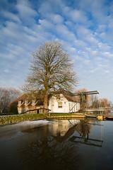 20170118-Canon EOS 750D-0807 (Bartek Rozanski) Tags: stompwijk zuidholland netherlands leidschendam holland nederland greenheart groenehart bridge house