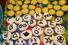 016 (Fearless Zombie) Tags: friends party fun spring funny tea april teaparty decorated minimuffins minicupcakes improperteaparty