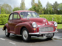 LES 443G,Morris Minor 1100 (stonetemplepilot5) Tags: uk car scotland automobile transport voiture morrisminor 1100 digitalcameraclub voituresanciennes worldcars sonydsch55 dsch55 sonycybershotdsch55 les443g