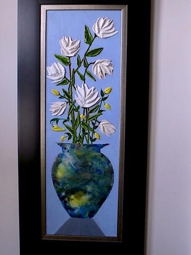 Enaustic Vase