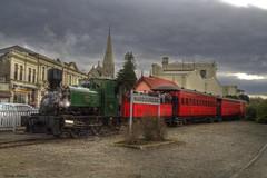 Oamaru (> Russ<) Tags: newzealand heritage train railway historic steam locomotive hdr oamaru steamtrain