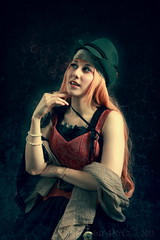 Age of Steam ~ Lady Bunnydoll ~ (Christopher Mark Perez) Tags: paris france lolita loli steampunk lolitafashion elinchrombx500ri noirvictoriangothic ladybunnydoll