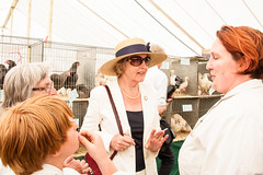Thursday 6th June 2013 South of England Show opens at Ardingly, West Sussex, UK