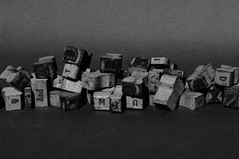 Typography (Alex Paradise Wright) Tags: old blackandwhite bw white black ink typography wooden letters samsung type blocks 20 movable gx20 gx