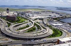 Logan (Rudy Chiarello) Tags: boston coast airport waterfront logan bos chiarello bostonharbor aerialphotos kbos bostontower rudychiarello