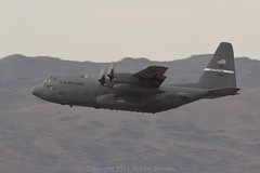 Lockheed Martin C-130 Hercules - Kentucky ANG SN-11232-5971 (rob-the-org) Tags: iso100 cloudy kentucky noflash 300mm cropped ang f11 hercules 250 c130 departing terminal4 phx airnationalguard phoenixaz lockheedmartin kphx propblur 1100sec skyharborinternational topjuly2013 parkingp8 sn11232