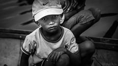 A kid, on the boat (Quoc Bao Truong) Tags: nikon vietnam viet hue nam nikonian