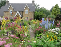 English Cottage Garden (2) (janet7r) Tags: flowers garden derbyshire heath scarecrowtrail