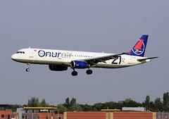 TC-OAL 21th anniversary (Kok Vermeulen) Tags: airbus onur eham a321 onurair a321231 tcoal rwy36r