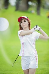 lady playing (anekphoto) Tags: summer vacation people woman game girl smiling sport horizontal lady female club training ball golf relax thailand happy person drive concentration hit women waiting asia play power outdoor young happiness competition hobby swing player course professional thai golfing driver recreation practice relaxation success challenge putt golfer winning active sportsequipment professionalsport